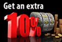 10% forex bonus